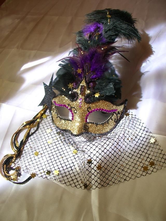 Masque féerique - Kaïna, la déesse de la Nuit