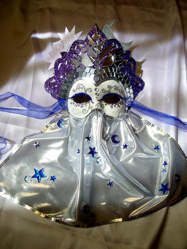 Lùna, la prêtresse des monts d'Argent - Masque féerique